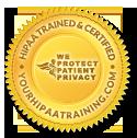 HIPAA Trained & Certified